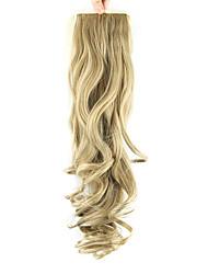 Недорогие -Искусственные волосы Волосы Наращивание волос Естественные кудри