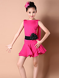 cheap -Shall We Latin Dance Dresses Children Fashion Dance Costumes