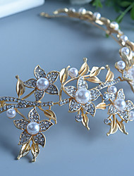 Pearl Rhinestone Alloy Headbands Headpiece