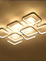 abordables -lámpara creativa atmosférica rectangular llevó las lámparas de techo de alta calidad