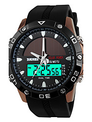cheap -SKMEI Men's Sport Watch Digital Watch Quartz Digital Japanese Quartz Alarm Calendar Solar Water Resistant / Water Proof Dual Time Zones