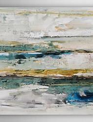 abordables -Peint à la main Abstrait Peintures à l'huile,Modern Un Panneau Toile Peinture à l'huile Hang-peint For Décoration d'intérieur