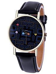 cheap -Game Watch,Vintage Style Leather Watch,Women Watches,Boyfriend Watch,Men's Watch,Black and White Cool Watches Unique Watches Fashion Watch