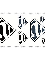 5 Tatuaggi adesivi Serie gioielli / Serie animali / Serie fiori / Serie totem / Cartoon Series Non Toxic / Fantasia / WaterproofNeonato /