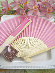 cheap -Bachelorette Silk Hand Fans Ladies Night Out Essentials, Summer Beach Party Inspirations BETER-HH059