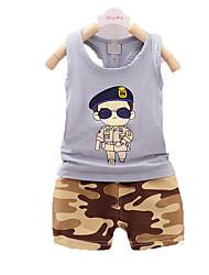 vestiti nuovi bambini di estate, vestito del ragazzo, vestito del cotone dei bambini, i neonati dolci vestiti