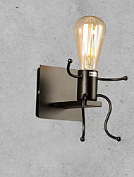 billige -CXYlight Rustikt / hytte Væglamper Metal Væglys 110 V / 110-120V / 220-240V 60 W / E26 / E27