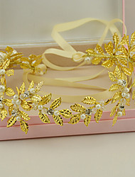 Women's Pearl / Rhinestone / Crystal / Alloy Headpiece-Wedding / Special Occasion Headbands 1 Piece