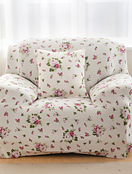 Modern Sofa Cover , Stretch Floral / Botanical Print Slipcovers