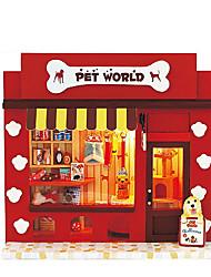 Недорогие -поделки хижина чи весело дом домашнее животное рай производители легкие оптовые творческие День Святого Валентина подарки подарки ручной