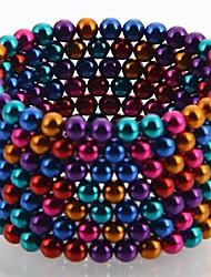Недорогие -216 pcs 5mm Магнитные игрушки Магнитные шарики Конструкторы Сильные магниты из редкоземельных металлов Неодимовый магнит Неодимовый магнит Стресс и тревога помощи Товары для офиса Своими руками