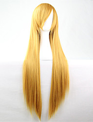 cheap -Synthetic Hair Wigs Straight kinky Straight Capless Carnival Wig Halloween Wig Blonde Synthetic Wig