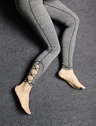 Mulheres Calças de Corrida Secagem Rápida Respirável Compressão Meia-calça Calças para Ioga Exercício e Atividade Física Esportes