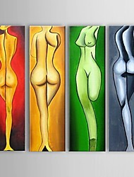 pittura a olio dipinta a mano moderna arte astratta bar decorazione arte decorativa con telaio allungato