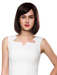 economico -carino bob acconciatura remy vergine dei capelli umani mano intelligente della donna legata-top parrucche emmor