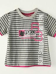 preiswerte -Jungen T-Shirt - Polyester Gestreift Sommer