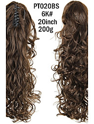 cheap -Ponytails Synthetic Hair Hair Piece Hair Extension Curly