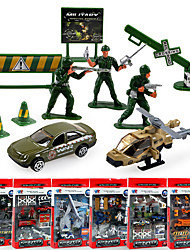 Недорогие -Дибанг -1700 детские образовательные игрушки модели автомобиля сплава автомобиля военной модели 6 asstpcs)