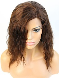 12-16 Inch Short Hair Style 150% Heavy Density Natural Human Hair Lace Front Wig