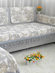 cheap -Sofa Cover Floral / Botanical Jacquard 100% Cotton Chenille Slipcovers