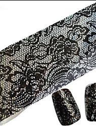 abordables -1 Engomada del arte del clavo Puntas Completas de Uña Abstracto Dibujos Encantador Boda maquillaje cosmético Dise?o de manicura