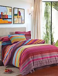 economico -Alla moda Set Copripiumino 4 pezzi Cotone A fantasia Stampa Cotone 1 piazza e mezzo Matrimoniale1 Copripiumino Copri cuscino (2 pz.)