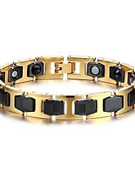 cheap -Magnetic Therapy Bracelet Men's Luxury Jewelry Health Care Gold Stainless Steel Bracelet