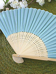 Recipient Gifts - 1Piece/Set Bachelorette Silk Hand Fans Ladies Night Out Essentials, Summer Beach Party Inspirations