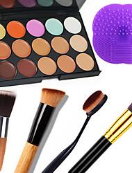 15 Консилер/Contour+КонсилерOthers / Кисти для макияжа влажный / Матовое стекло / Отблеск Лицо / КорпусВлажность / Защита от солнца /