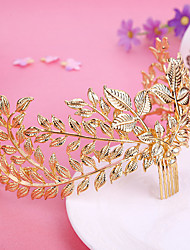 Women's Alloy Headpiece-Wedding / Special Occasion / Outdoor Hair Combs / Flowers 1 Piece