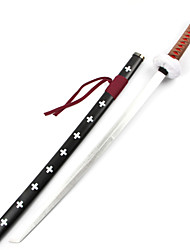 cheap -Weapon Sword Inspired by One Piece Trafalgar Law Anime Cosplay Accessories Sword Wood Male