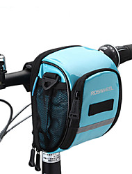 cheap -ROSWHEEL Bike Bag 1.8L Bike Handlebar Bag Moistureproof/Moisture Permeability Waterproof Zipper Wearable Shockproof Bicycle Bag PU