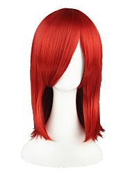 economico -Parrucche Cosplay Il maggiordomo diabilico Nozomi Tōjō Rosso Medio Anime Parrucche Cosplay 45 CM Tessuno resistente a calore Uomo / Donna