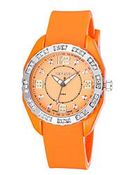 preiswerte -Herrn Damen Quartz Digitaluhr Armbanduhr Smartwatch Militäruhr Sportuhr Chinesisch Kalender Großes Ziffernblatt Silikon Band Charme Luxus