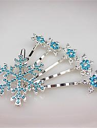 Недорогие -Заколки-пряжки Аксессуары для волос Кристаллы парики Аксессуары Жен. штук 1-5cm см