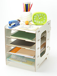 Dřevo Praktické ODMĚNY-1 Pro použití v kanceláři. Klasický motiv Červená / Růžová / Bílá / Zelená / Modrá / Žlutá 33.5*31*27.2cm