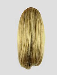 Недорогие -На клипсе Кудрявый Конские хвостики Медведь-коготь / челюсть Волосы Наращивание волос 10 дюйм Блондинка
