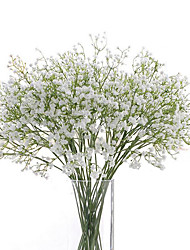 cheap -Artificial Flowers 6 Branch Wedding Flowers Baby Breath Tabletop Flower