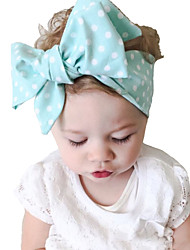 cheap -Kid's Vintage Lovely Dots Big Bowknot Headband(0-15Years Old)