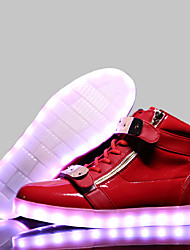 cheap -LED Light Up Shoes, USB Charging Luminous Shoes Women's Casual Shoes Fashion Sneakers Black / Blue / Red / White