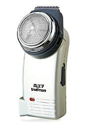 billige -Elektrisk barbermaskin Herre Ansikt Elektrisk Våt/Tørr Barbering / LED Lys Rustfritt Stål Trueman