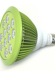 YouOKLight 24W plant grow light, apperance is painting of mint green color.AC85~265V