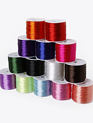 cheap -Beadia 60Mts 0.7mm Stretch Elastic Beading Cord & Wire & String (14 Colors)
