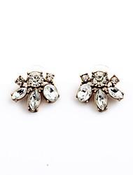 cheap -European Style Luxury Gem Geometric Earrrings Sample Stud Earrings for Women Fashion Jewelry Best Gift