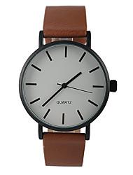 cheap -Women's Wrist Watch Quartz Casual Watch PU Band Analog Charm Fashion Minimalist Brown - Dark Brown One Year Battery Life / Tianqiu 377