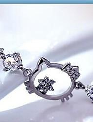 cheap -Kitty Cat Zircon Bracelet