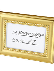 cheap -Gold Baroque Metal Place Card Photo Holder 4 x 3 inch Beter Gifts® DIY Party Decoration