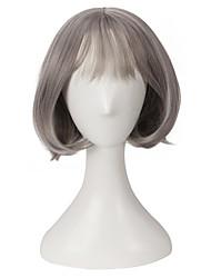 popolare breve parrucca grigia naturale alla ricerca di Europa e in America la ragazza di regalo di compleanno