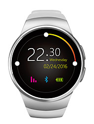 cheap -New Smart Watch Phone W18 MTK2502C 1.3 Inch Round Screen IPS LCD 240X240 Bluetooth 4.0 Anti-lost Alert