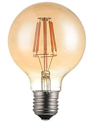 cheap -1pc G95 4W E27 360LM 2300K-2700K 360 Degree LED Filament Light LED Edison Bulb(220-240V)